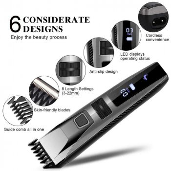 Професійна машинка для стрижки волосся Gemei GM-802