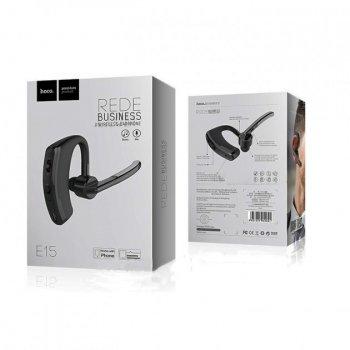 Bluetooth-гарнитура Hoco E15 Rede Black