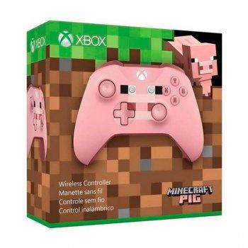 Microsoft Xbox One S Wireless Controller Minecraft Pig