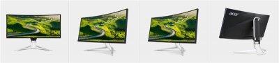 "Монітор CURVED LED LCD Acer 34"" Predator XR342CK UW-QHD,HDMI,DP,mDP,USB3.0,MM,IPS,100%sRGB,Black (UM.CX2EE.009)"
