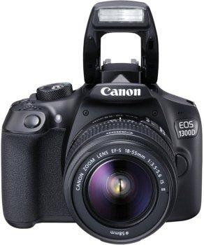 Фотоапарат Canon EOS 1300D kit (18-55mm) EF-S IS II (Rebel T6)