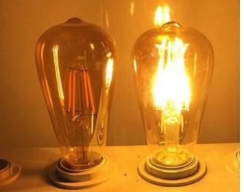 Світлодіодна лампа Z-light (ZL 16408272FGD 8w 2200k E27 Gold Dimmer)