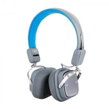 Bluetooth наушники-гарнитура Remax RB-200HB Blue (Q/RMM 003-2017)
