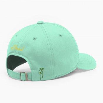 Женская кепка бейсболка INAL strawberry XL / 59-60 RU Зеленый 285159