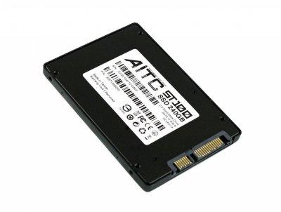 """Твердотільний накопичувальний (жорсткий) диск 240GB 2.5"""" SATA III AITC AIST100S240 (770008630)"""