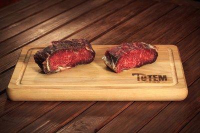 Стейк ТОТЕМ СТЕЙК Нью-Йорк (Steak New York) сухої витримки 50+ днів L (200-250г)