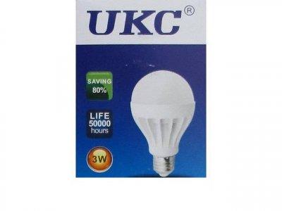 Лампочка светодиодная UKC Led E27-3W