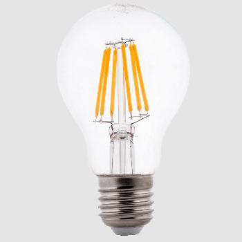Світлодіодна филаментная лампа Ilumia 6Вт, цоколь Е27, 3000К (теплий білий), 600Лм (059)