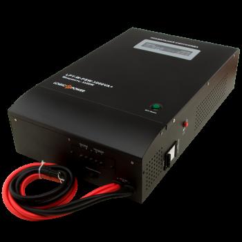 ДБЖ з правильною синусоїда LogicPower LPY-W-PSW-5000VA+(3500W)10A/20A 48V для котлів і аварійного освітлення