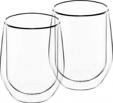 Набор чашек Ardesto для латте с двойным дном 250 мл 2 шт (AR2625G)