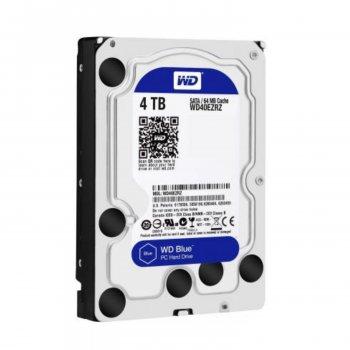 Винчестер Western Digital WD40EZRZ 4TB 3.5 5400rpm 6GBS 64 MB Caviar Blue (145676)