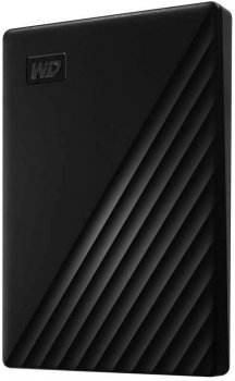 "Жесткий диск Western Digital My Passport 5TB WDBPKJ0050BBK-WESN 2.5"" USB 3.0 External Black"