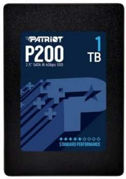 """Накопитель SSD 1ТB Patriot P200 2.5"""" SATAIII TLC (P200S1TB25)"""