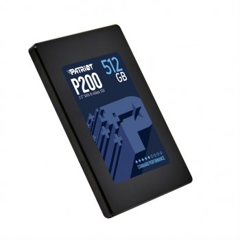 "Накопичувач SSD 512GB Patriot P200 2.5"" SATAIII TLC (P200S512G25)"