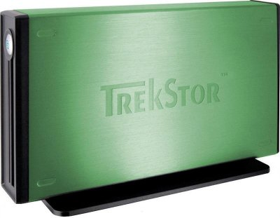 "Накопичувач зовнішній HDD 3.5"" USB 1.0 TB TrekStor DataStation maxi m.ub Green (TS35-1000MMUG) - Refubrished"