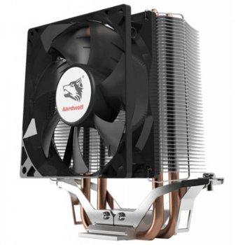 Кулер процесорний Aardwolf Performa 3X (APF-3X-92), Intel: 1150/1151/1155/1156/775, AMD: FM2/FM2+/FM1/AM3+/AM3/AM2+/AM2/AM4, 131х127х76 мм, 4-pin
