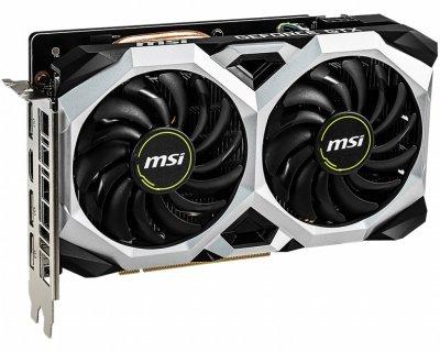 Відеокарта GF GTX 1660 6GB GDDR5 Ventus XS MSI OC (GeForce GTX 1660 Ventus XS 6G OC)