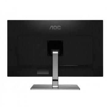 """Монітор AOC 31.5"""" U3277FWQ MVA Black/Silver; 3840x2160, 300 кд/м2, 4 мс, DisplayPort, HDMI, DVI, D-Sub"""