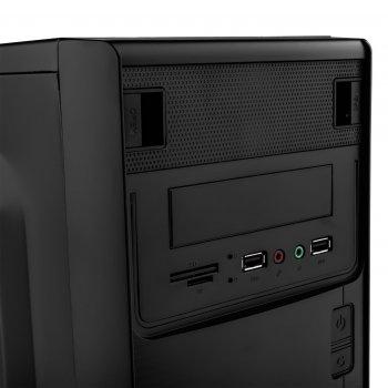 Корпус Logicpower 6103-400w 12см, 2хUSB2.0, Black