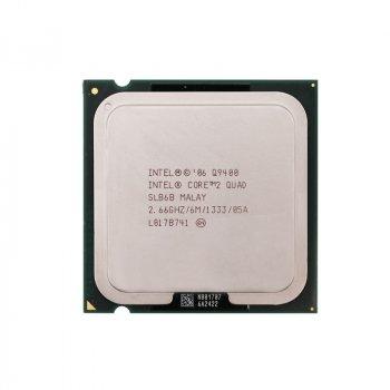 Процесор Intel Core2 Quad Q9400 LGA775 2.66 GHz/ 6 MB/ 1333 Mhz s775 Tray Б/У
