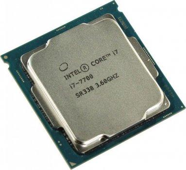 Процесор Intel Core i7-7700 (S1151/4x3.6GHz/8GT/s/8MB/65 Вт/BX80677I77700) Б/У