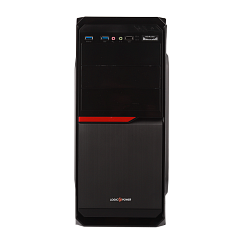 Корпус LP 2011-450W 12см black case chassis cover с 2xUSB2.0 и 1xUSB3.0