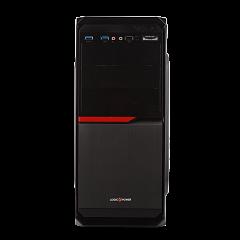 Корпус LP 2011-500W 12см black case chassis cover с 2xUSB2.0 и 1xUSB3.0