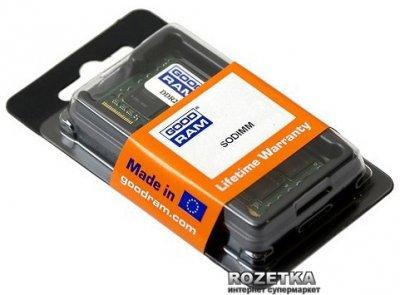 Оперативна пам'ять Goodram SODIMM DDR2-800 2048MB PC2-6400 (GR800S264L6/2G)