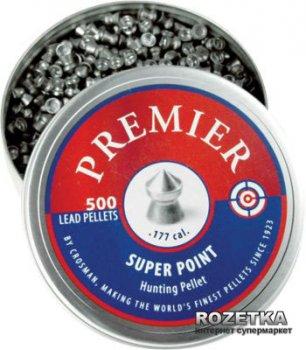 Свинцовые пули Crosman Super Point 0.51 г 500 шт (LSP77)