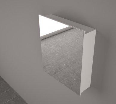 Зеркальный шкаф FANCY MARBLE ШЗ-700 (белый)