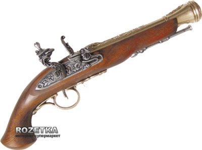 Макет пистолета с кремниевым замком, XVIII век, Denix (1076L)