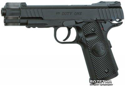 Пневматичний пістолет ASG STI Duty One Blowback (23702504)