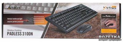 Комплект бездротовий A4Tech 3100N Вlack (4711421876384)