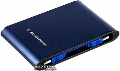 Жорсткий диск Silicon Power Armor A80 1TB SP010TBPHDA80S3B 2.5 USB 3.0 External Blue