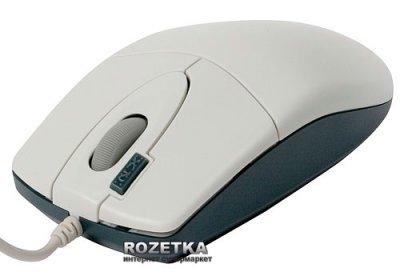 Миша A4Tech OP-620D USB White (4711421705448)