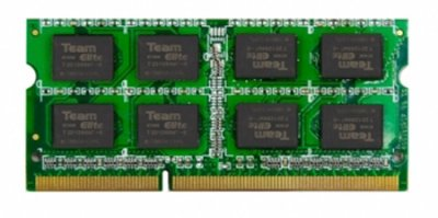 Оперативна пам'ять Team SODIMM DDR3-1600 8192MB PC3-12800 Elite (TED38G1600C11-S01)