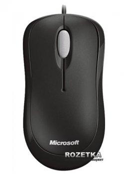 Миша Microsoft Basic USB Black (4YH-00007)