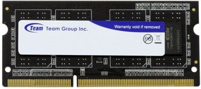 Оперативна пам'ять Team SODIMM DDR3-1333 4096MB PC3-10600 Elite (TED34G1333C9-S01)