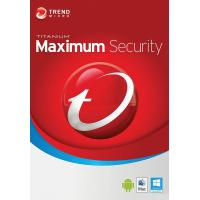 Антивірус Trend Micro Maximum Security 2019 5ПК, 12 month(s), Multi Lang, Lic, New (TI10974200)