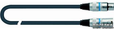 Мікрофонний кабель Quik Lok CM180-3BK 3 м (212728)