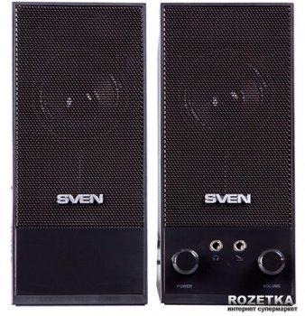 Акустична система Sven SPS-604 USB Black