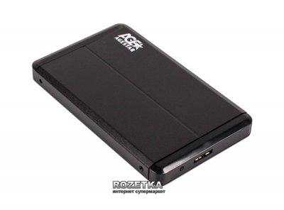 """Внешний карман Agestar для HDD 2.5"""" USB3.0 (3UB 2O8 Black)"""