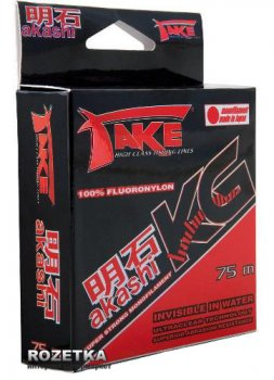 Леска Lineaeffe Take Akashi Kilo Fluoronylon 75m 0.12mm 2.9kg (3044012)