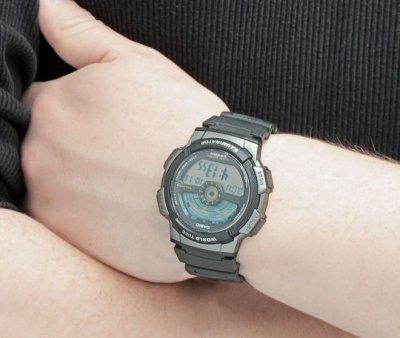 Чоловічий годинник CASIO AE-1100W-1AVEF