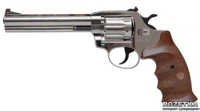"""Револьвер Alfa мод 461 6"""" (никель, дерево) 144927/9 (14310054)"""