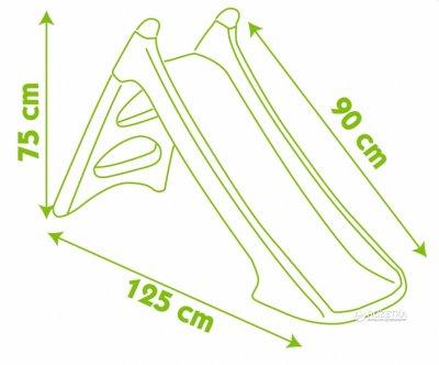 Горка с водным эффектом длина 90 см Smoby (310270)