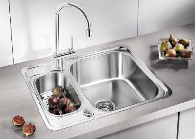 Кухонна мийка BLANCO TIPO 6 511949 + зливний гарнітур (214301)