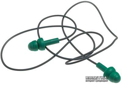 Беруши многоразовые MSA Right Reusable Ear Plugs 10087450 со шнурком Green
