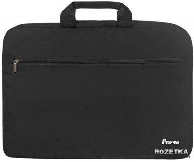 Сумка для ноутбука Porto 17.3'' Black (PN17BK)