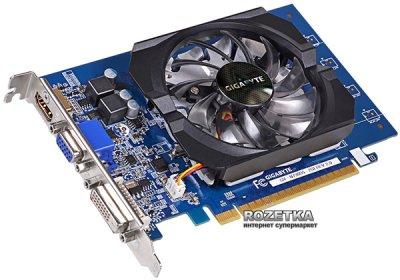 Gigabyte PCI-Ex GeForce GT 730 2048MB GDDR5 (64bit) (902/5000) (DVI, HDMI, D-Sub) (GV-N730D5-2GI)
